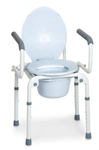 Immagine di Sedia Comoda WC con Braccioli Ribaltabili