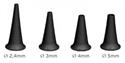 Immagine di Set 4 Speculi Riutilizzabili per Otoscopio DIMED Mini