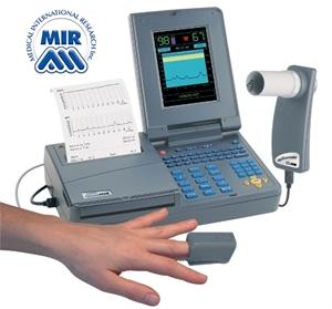 Immagine di Spirometro Professionale SPIROLAB III con Ossimetro