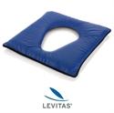 Immagine di Cuscino con Foro in Gel Fluido di Silicone LEVITAS