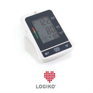 """Immagine di Sfigmomanometro LOGIKO Automatico Digitale da Tavolo - Display 4"""""""